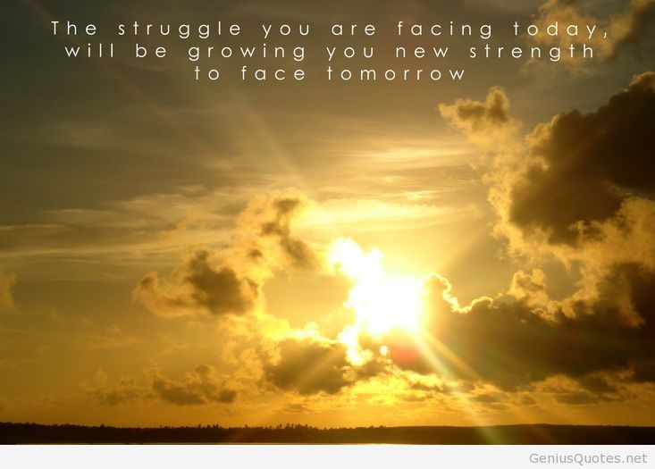strength-for-tomorrow-sunset-quote